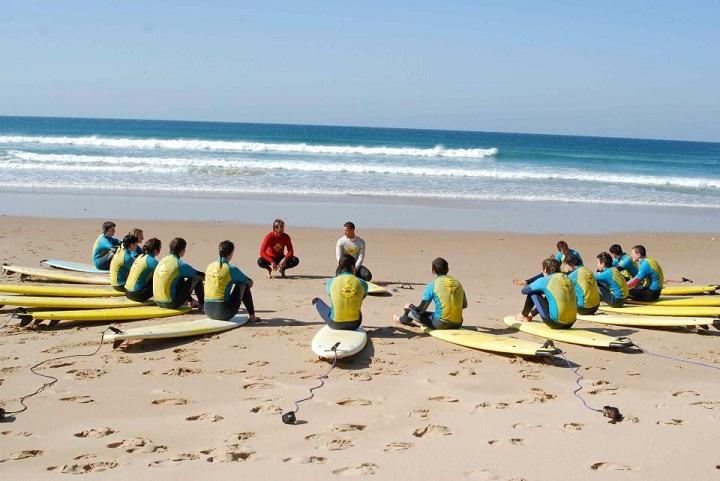 Imparare a fare surf