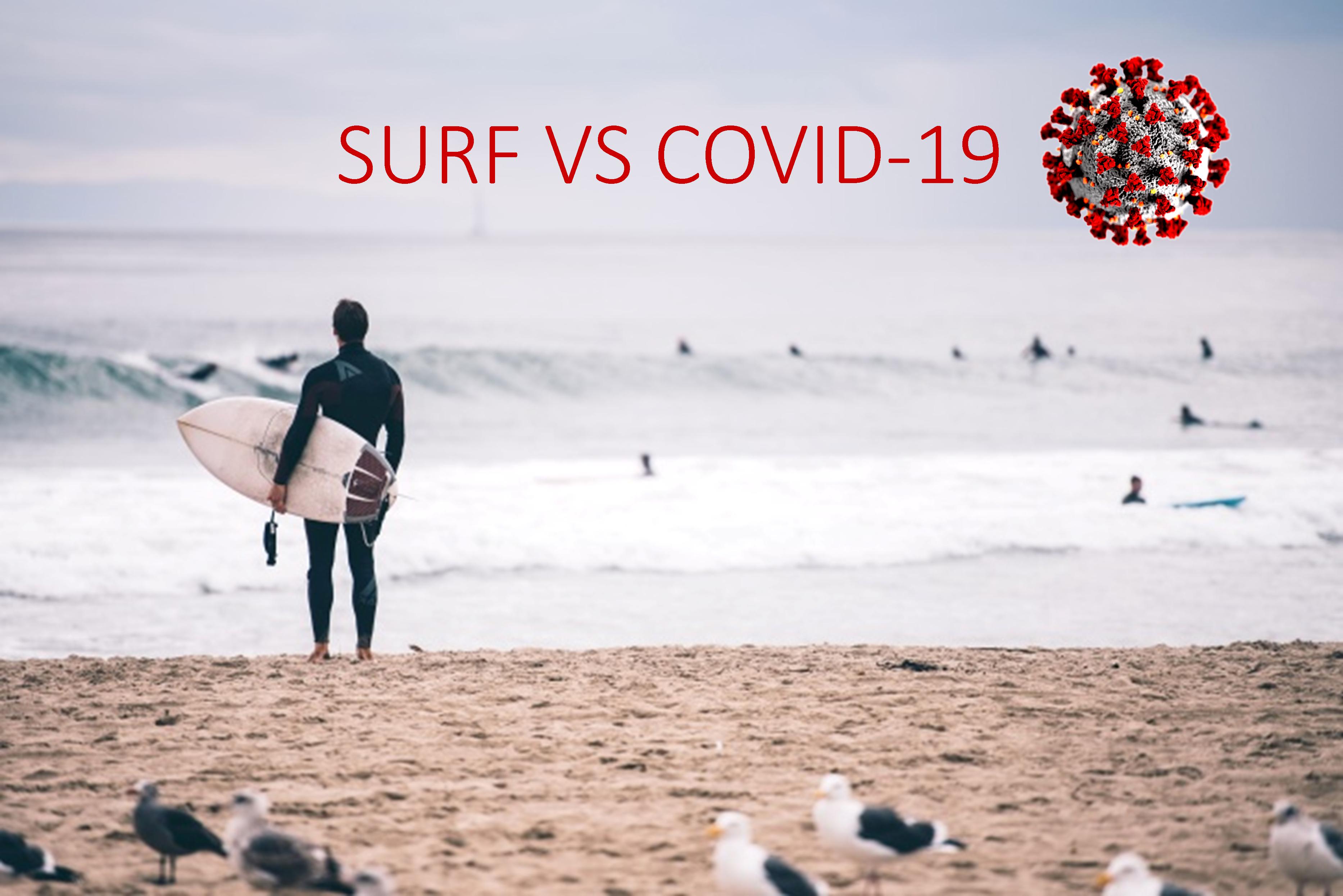 Surf, le precedenze ai tempi del Coronavirus