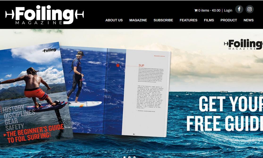 La nascita di Foiling Magazine