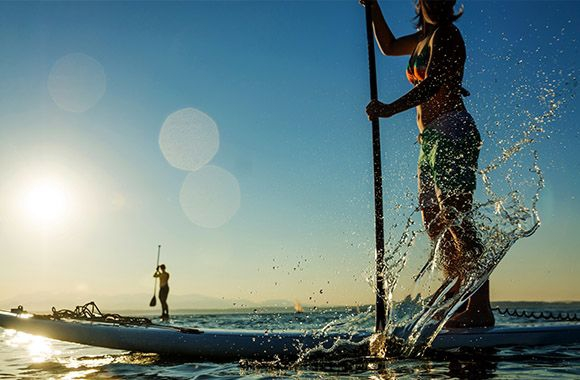 Stand Up Paddle - Quando il SUP incontra la Canoa