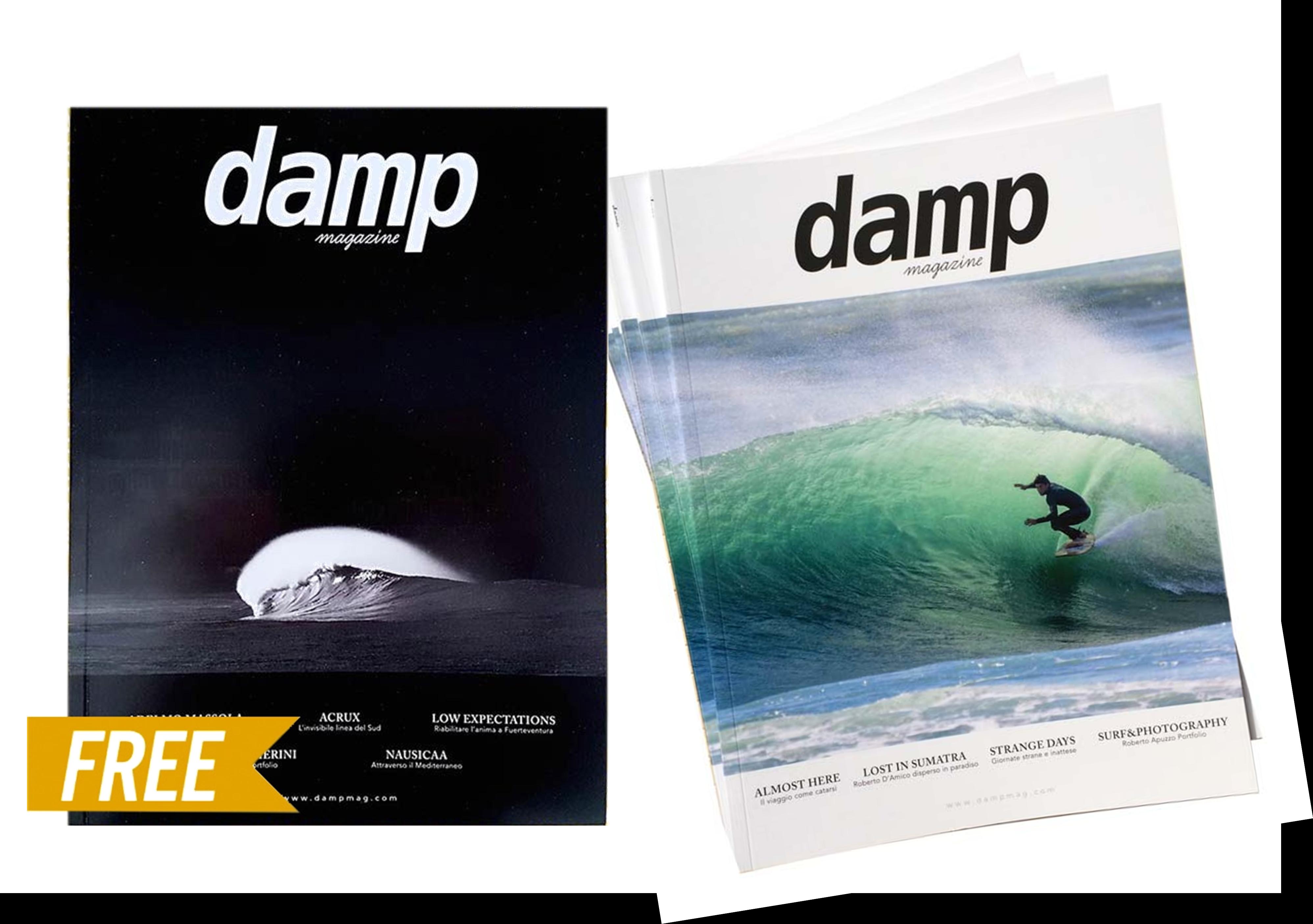 Damp Magazine # La nuova rivista italiana di surf totalmente gratuita