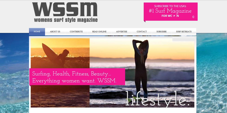 Le donne e i surf Magazine