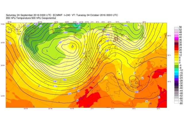 previsione meteo climatica ottobre