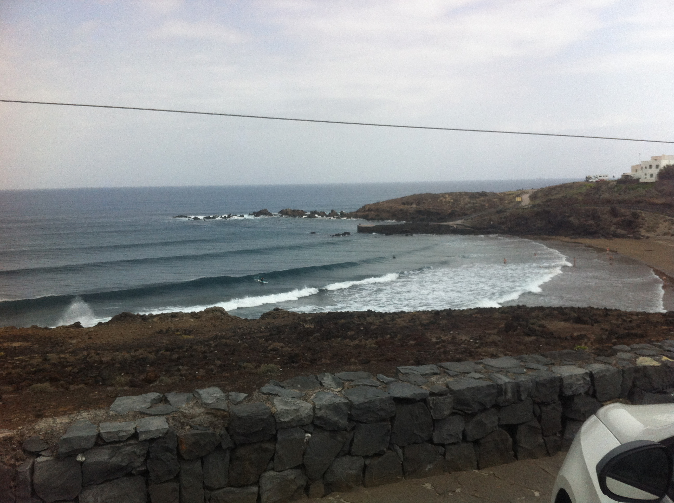 Surfing in Canarias Island