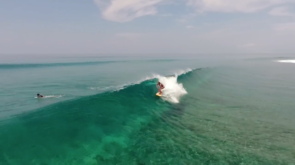 Immagine Surf drone # Maldive