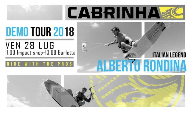 Demo Cabrinha SUP - kites 2018 - Impact Surf Shop