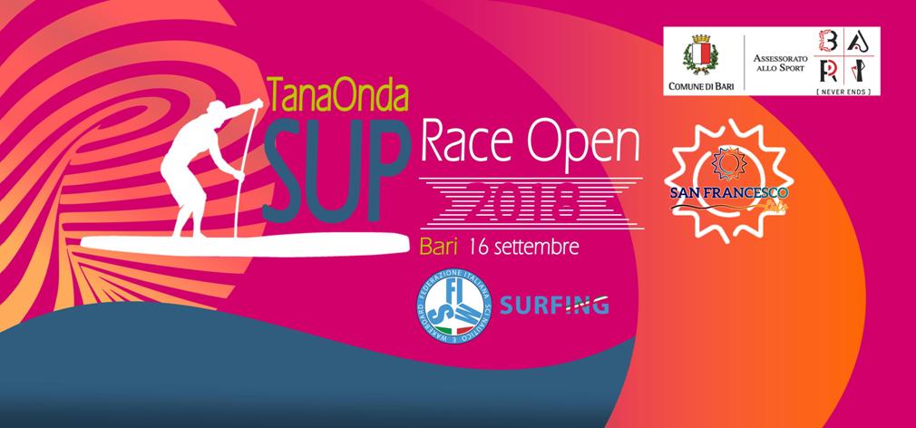 TanaOnda SUP Race 2018 # Comunicato stampa
