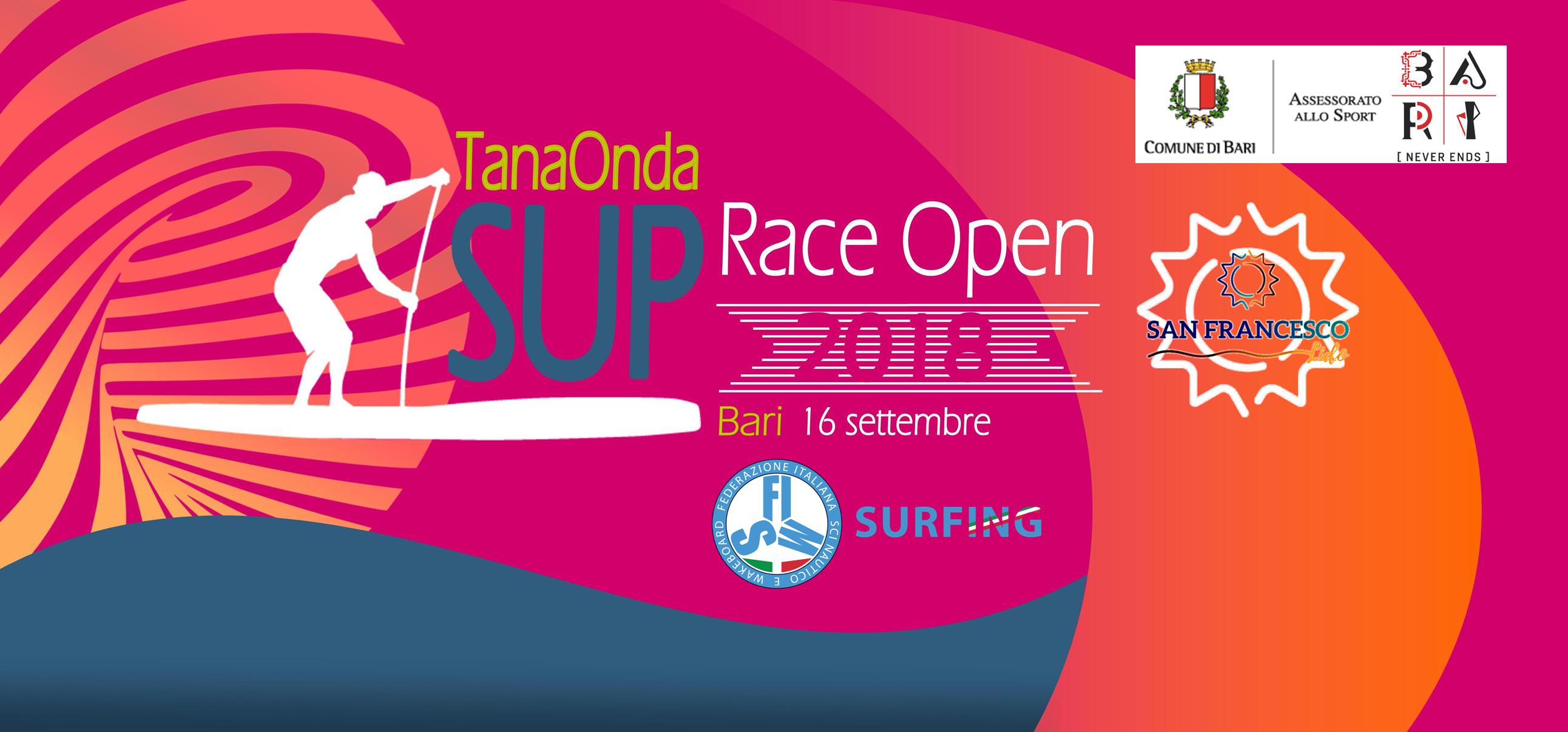 VADEVECUM PARTECIPAZIONE #Tanaonda SUP Race 2018