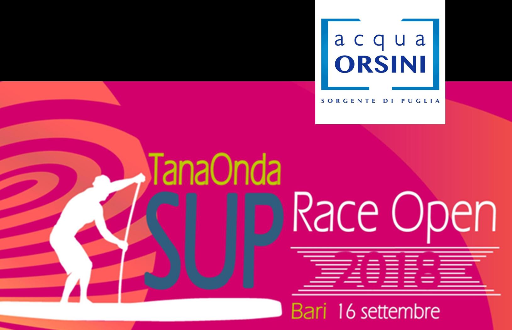 Sponsor ecologici / ACQUA ORSINI # Tanaonda SUP Race