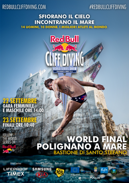 Red Bull Cliff Diving VR # l'ebrezza di tuffarsi.