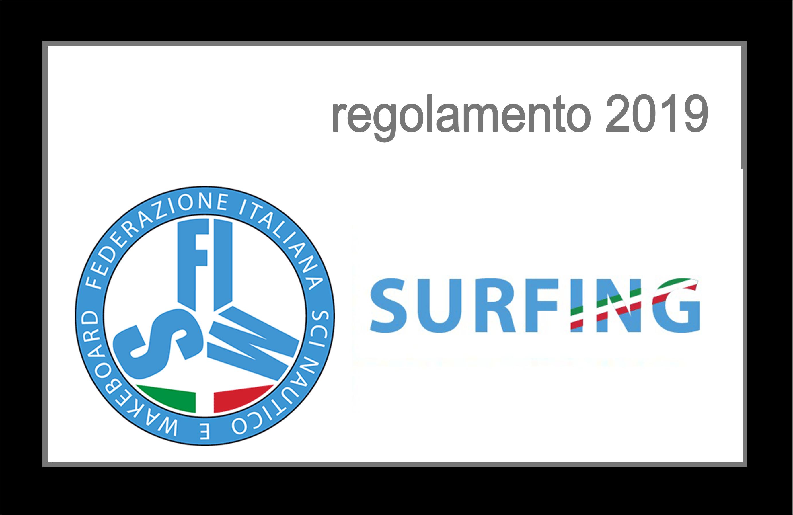 Surfing FISW # regolamenti