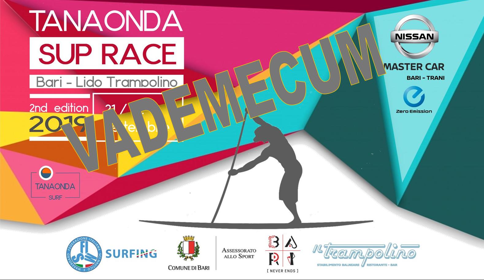 Vademecum ASD per la Tanaonda SUP Race 2019