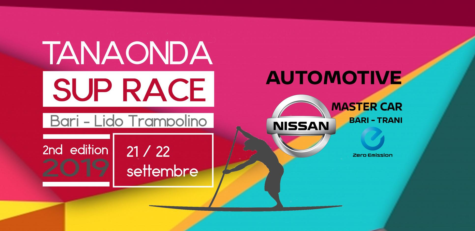 Nissan Master Car Bari - Trani Official Car della Tanaonda SUP Race 2019