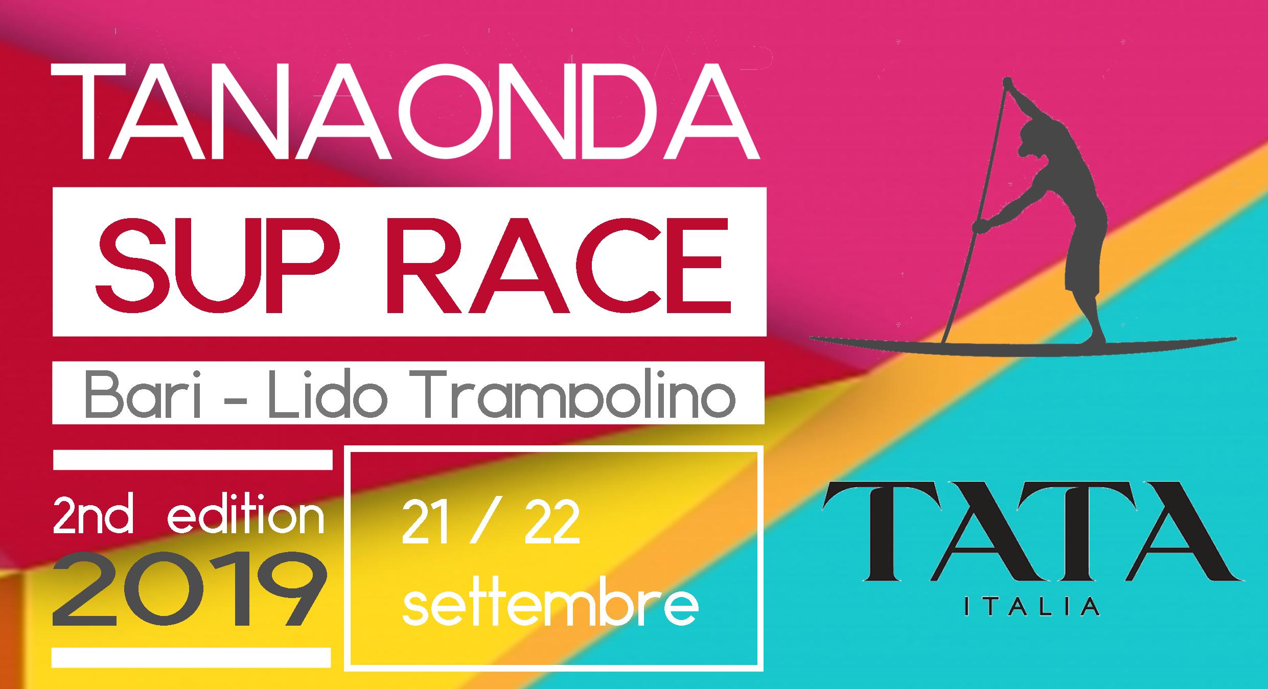 Tanaonda Sup Race 2019 # TATA Italia ancora una volta il nostro Partner