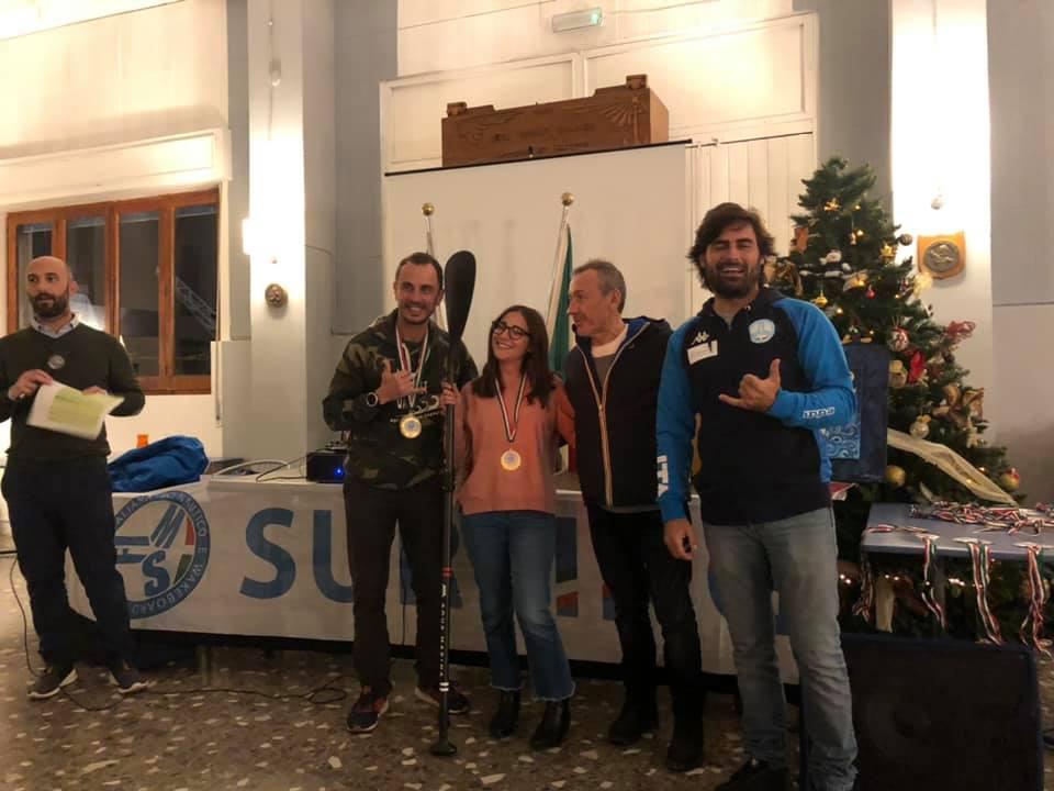 premiazione Surfing FISW campionato italiano di categoria Maya Colella